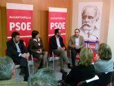 Antonio Hernando apoya la candidatura socialista que encabeza José Antonio Sabater