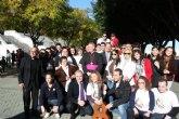 El Alcalde comparte con miles de murcianos el Encuentro Diocesano de Familias