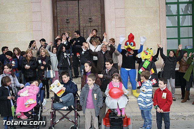 More than 200 people participated in reading the manifesto of the World Day for Rare Diseases