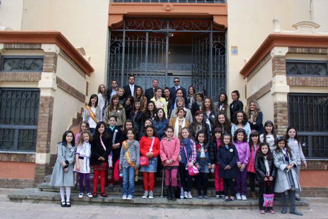 Candidatas a reinas mayor e infantil de las fiestas de Alcantarilla 2011 - 1, Foto 1