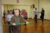 La concejalía de Deportes del Ayuntamiento de Fuente Álamo imparte un programa de ejercicios para diábeticos pionero en la Región