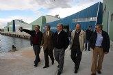 La Comunidad construye en San Pedro del Pinatar siete naves para mejorar la competitividad del sector acuícola