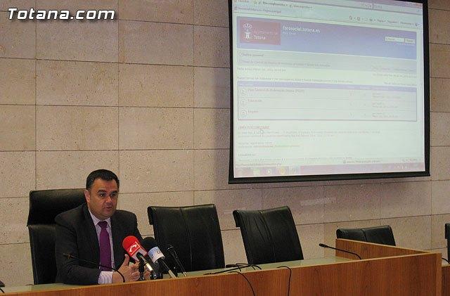 Presentación página web Foro Social, Foto 1
