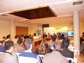 La candidata a la presidencia nacional de Nuevas Generaciones, Beatriz Jurado, visita Lorca