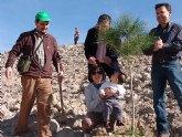 El Pueblo de Bullas comienza la repoblación de la nueva zona verde de Los Cantos