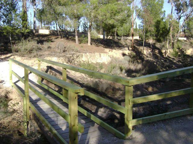 Abierto al público el segundo tramo del Corredor Verde La Fuente de Molina de Segura, que transcurre por la cuenca de la Rambla de las Monjas - 4, Foto 4
