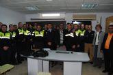 Despedida de un Policía Local pre-jubilado por enfermedad