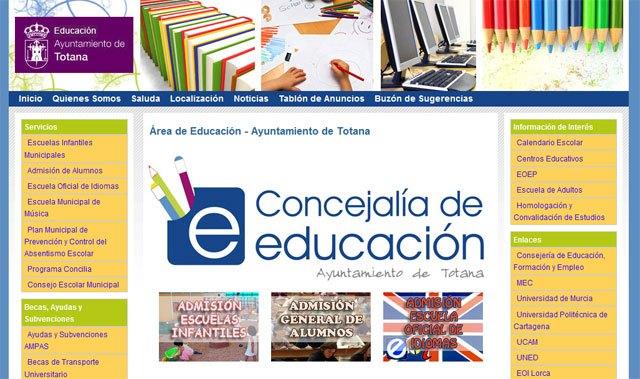 El nuevo portal de Educación nace con el objetivo de ofrecer un espacio virtual, Foto 2