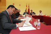 El alcalde de Totana y el consejero de Política Social suscriben un convenio