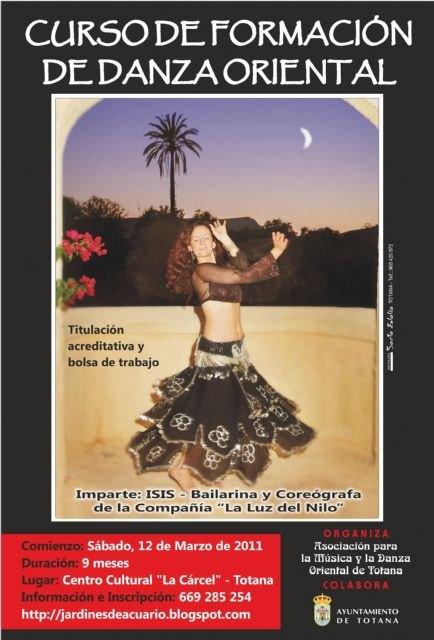 El próximo sábado 12 de marzo comienza un curso de danza oriental, Foto 1