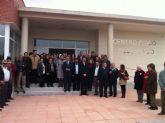 El delegado y la alcaldesa inauguran la administración electrónica de San Javier
