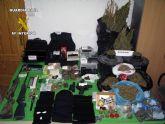 La Guardia Civil desmantela una banda organizada dedicada al tr�fico de drogas en Mazarr�n