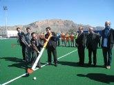 Cruz inaugura en Santomera el primer campo de hockey sobre hierba de la Región