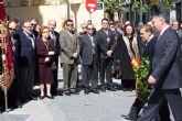 Alcantarilla celebró hoy el día de  homenaje al nazareno