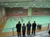 El consejero de Cultura y Turismo inaugura el nuevo pabellón polideportivo de Pliego