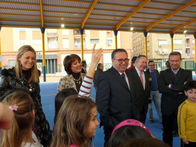 Los colegios públicos Ntra. Sra. de la Consolación y El Romeral de Molina de Segura estrenan nuevas pistas polideportivas cubiertas - 4, Foto 4