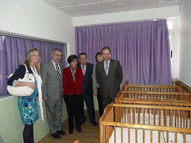 Sotoca inaugura una nueva Escuela Infantil en Cañada de las Eras de Molina de Segura, que iniciará su actividad el próximo curso - 2, Foto 2