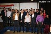 Juan Francisco Otálora presentó su candidatura en una cena mitin acompañado de simpatizantes y militantes