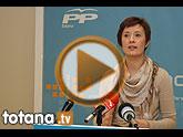 La portavoz del PP pregunta a Otálora