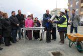 Primera piedra del nuevo Parque Público Reina Sofía que se construirá en el centro urbano de Puerto Lumbreras