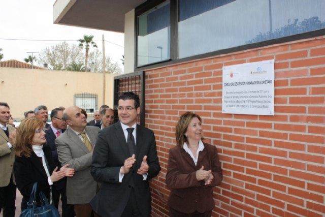 Palacios subraya que la remodelación del Consultorio de San Cayetano en Torre Pacheco posibilita prestar atención pediátrica - 1, Foto 1