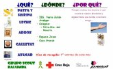 Juventud y Cruz Roja inician una campaña de recogida de alimentos para familias necesitadas