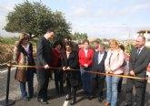 Finalizan las obras de mejora de la seguridad vial y un nuevo carril bici en la travesía de Fuente Álamo