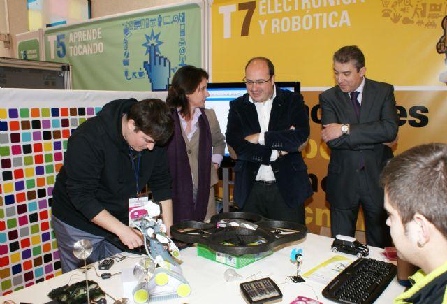 Inaugurada la XI edición de la Feria de Nuevas Tecnologías SICARM en Puerto Lumbreras - 1, Foto 1