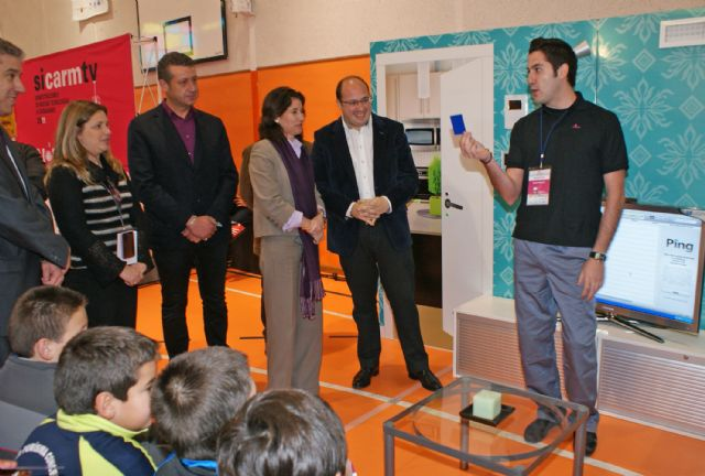 Inaugurada la XI edición de la Feria de Nuevas Tecnologías SICARM en Puerto Lumbreras - 3, Foto 3