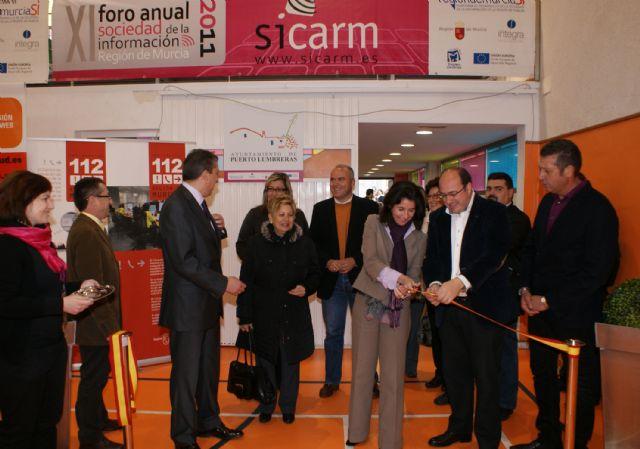 Inaugurada la XI edición de la Feria de Nuevas Tecnologías SICARM en Puerto Lumbreras - 4, Foto 4