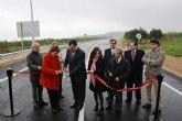 El Gobierno regional finaliza las obras de construcción de la nueva variante de Tallante en Cartagena