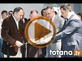 El alcalde y el delegado del Gobierno inauguran el nuevo Pabellón de Deportes 'Padres Capuchinos'