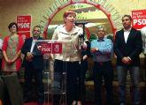Begoña García Retegui pone como ejemplo a Beniel para demostrar es posible darle la vuelta al Gobierno en la Región de Murcia