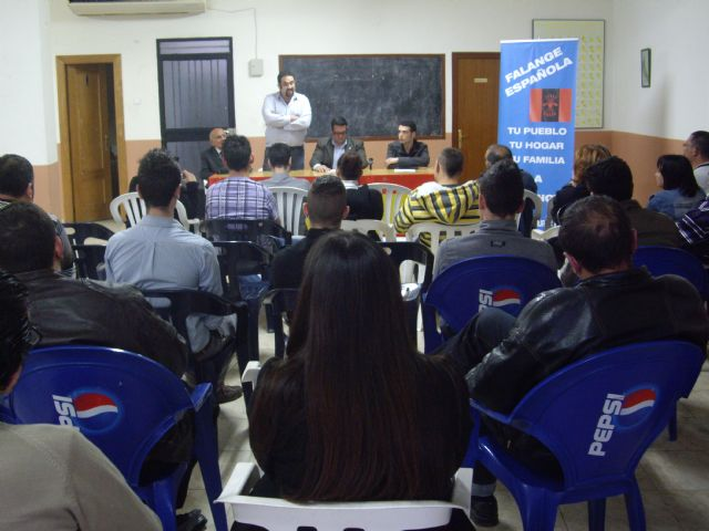 Presentacion oficial candidatura Falange Española en Fortuna - 1, Foto 1