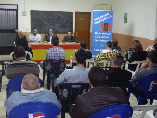 Presentacion oficial candidatura Falange Española en Fortuna - 2, Foto 2