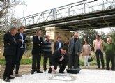 La Comunidad inicia las obras del nuevo puente sobre el río Segura en Archena