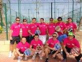 El equipo de pádel del Club de Tenis Totana a punto de ascender de categoría