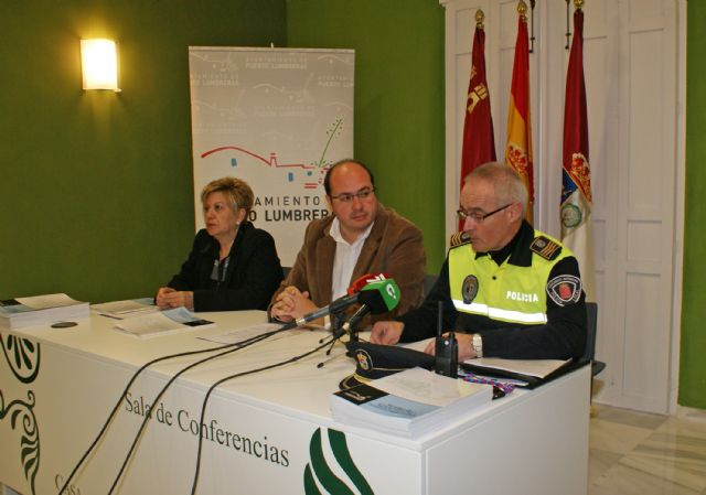 La Policía Local de Puerto Lumbreras incrementó en más del 80% de los servicios de seguridad ciudadana en 2010 - 1, Foto 1