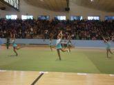 La Competición Interescuelas de Gimnasia Rítmica contó con doscientas cuarenta gimnastas de Lorca, Alhama y Totana