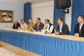 El alcalde asiste a la clausura de la XXXV Asamblea General Ordinaria de la Asociación Regional Murciana de Hemofilia