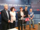 Retegui se reúne con representantes de los estibadores para apoyar sus reivindicaciones y pedir que se cumpla la actual ley de Puertos