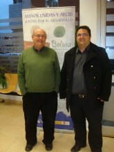 Carrión y Antonio Pintado visitan la exposición sobre Bolivia y Filipinas que se encuentra en La Cárcel