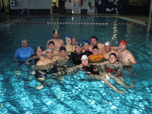 14 alumnos participaron en el seminario de relajación en el agua organizado por la concejalía de Deportes - 1, Foto 1