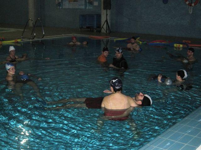 14 alumnos participaron en el seminario de relajación en el agua organizado por la concejalía de Deportes - 3, Foto 3