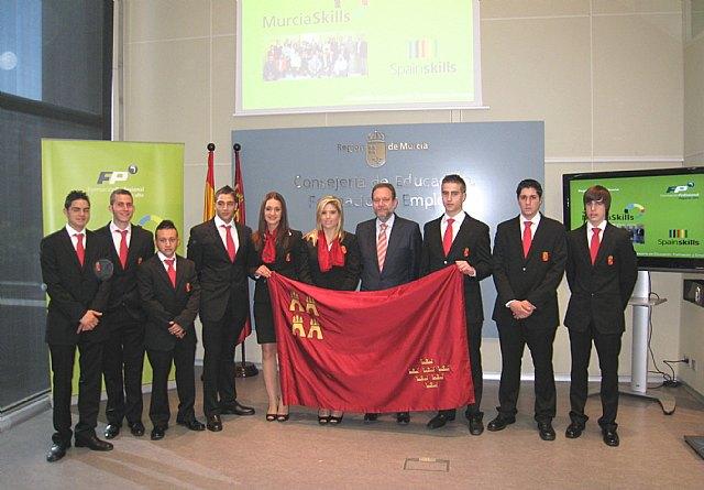 Sotoca recibe a los alumnos que representarán a la Región en el campeonato nacional de Formación Profesional ´SpainSkills´ - 2, Foto 2