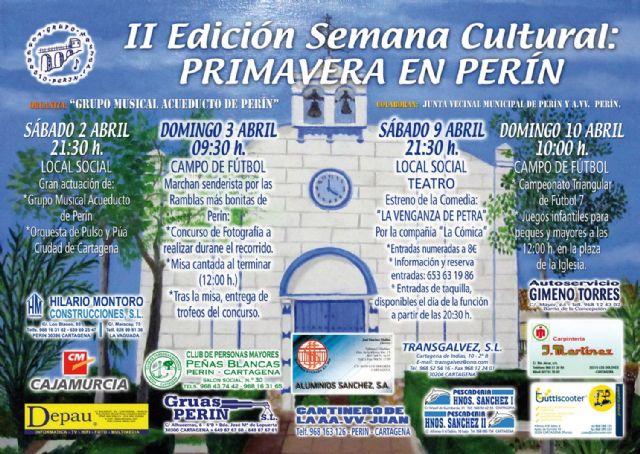 Perín celebra su II Semana Cultural - 1, Foto 1