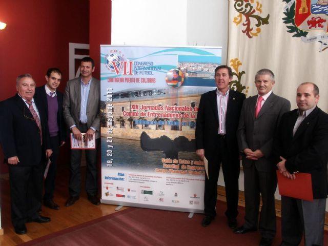 El VII Congreso Internacional de Fútbol traerá a Cartagena la Copa del Mundo - 1, Foto 1