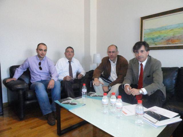 Juan Patricio Castro traslada el apoyo del PSOE al tejido local durante una reunión con ACEMUR - 1, Foto 1