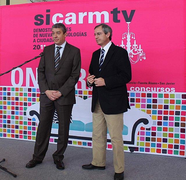 Sicarm lleva a Archena sus demostraciones tecnológicas y acerca en Lorca las TIC a personas dependientes y mayores - 2, Foto 2