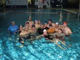 14 alumnos participaron en el seminario de relajación en el agua organizado por la concejalía de Deportes